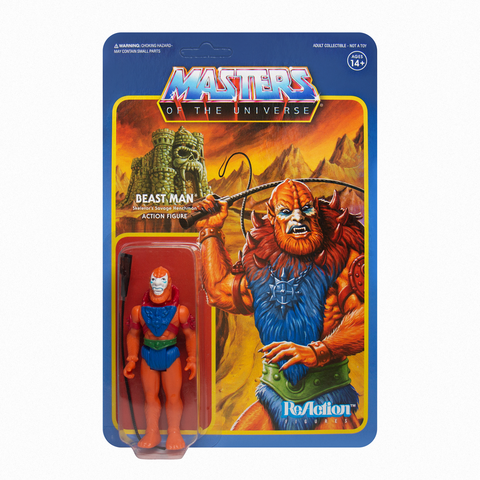 Master of the Universe ReAction Figure - Beastman (Leo)