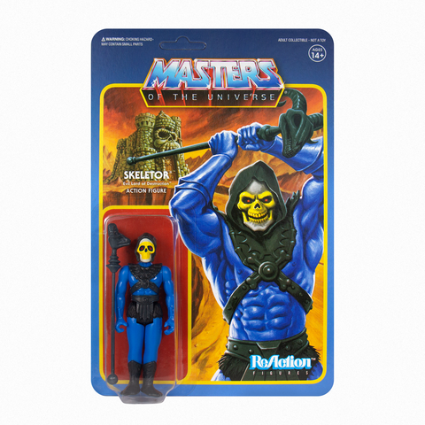 Master of the Universe ReAction Figure - Skeletor (Leo)