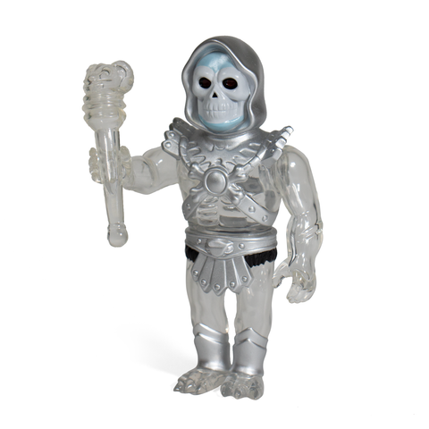 Masters of The Universe Vinyl - Skeletor (Clear/Silver)