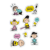 Peanuts Puffy Stickers - Set