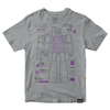 Transformers T-Shirt - Megatron Cyborg Diagram