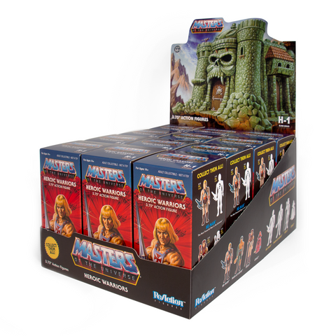 Masters of the Universe ReAction Figure - Castle Grayskull Blind Box Flat