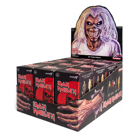 Iron Maiden ReAction Figure - Blind Box Flat