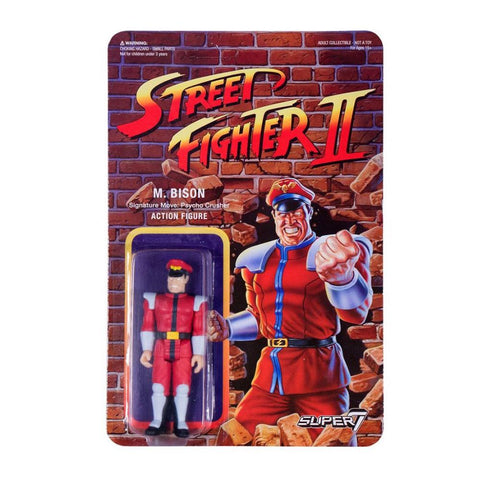 Street Fighter 2 ReAction Figure - M. Bison