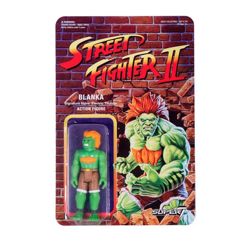 Street Fighter 2 ReAction Figure - Blanka