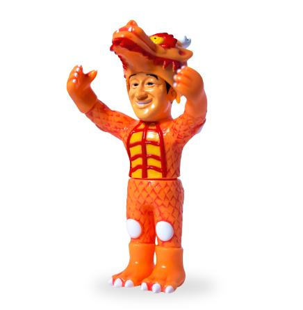 Super7 Japanese Vinyl - Cab Dragon (Original Orange)