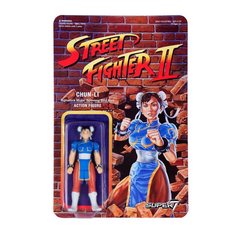 Street Fighter 2 ReActon Figure - Chun-Li