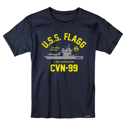 GI Joe T-Shirt - U.S.S. FLAGG