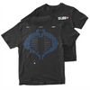 GI Joe T-Shirt - 8-Bit Cobra Commander Backhit