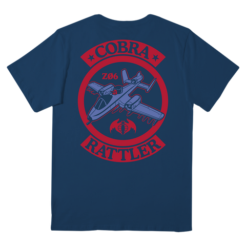 GI Joe T-Shirt - Cobra Rattler