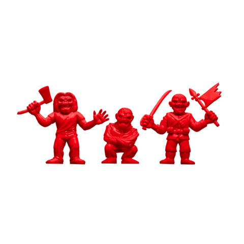 Iron Maiden MUSCLE 3-pack - Killers, The Trooper, Piece of Mind (Red)