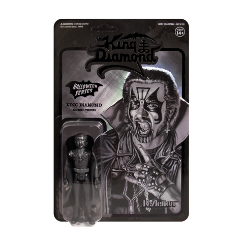 King Diamond ReAction Figure - Black