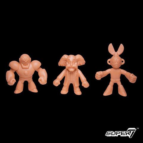 Mega Man MUSCLE - Pack C (Doctor Wily, Cut Man, Guts Man)