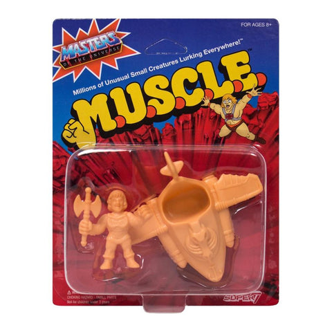Masters of the Universe MUSCLE - Pack E (Battle Armor He-Man, Wind Raider)