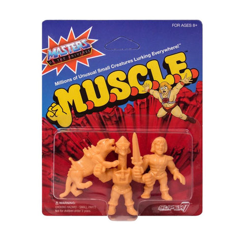 Masters of the Universe MUSCLE - Pack D (Prince Adam, Panthor, Mekaneck)