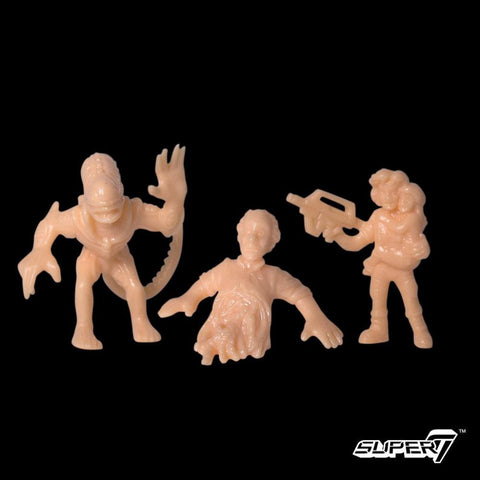 Aliens MUSCLE - Pack A (Ripley w/Newt, Bishop, Alien Warrior)