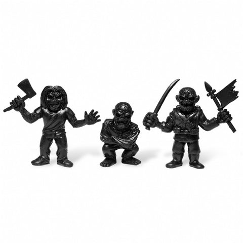 Iron Maiden MUSCLE 3-Pack - Killers, The Trooper, Piece of Mind (Black)