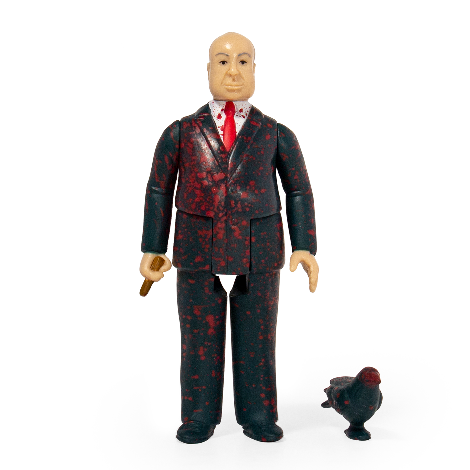 """SUPER7 Alfred Hitchcock Blood Spatter ReAction Figure 3.75/"""" NEW"""