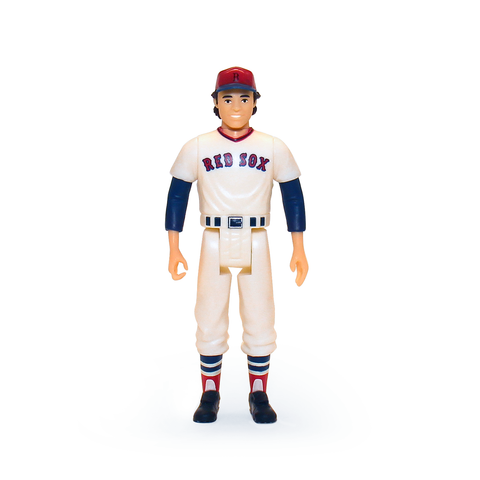 MLB CLASSIC REACTION FIGURE - CARLTON FISK (BOSTON RED SOX)
