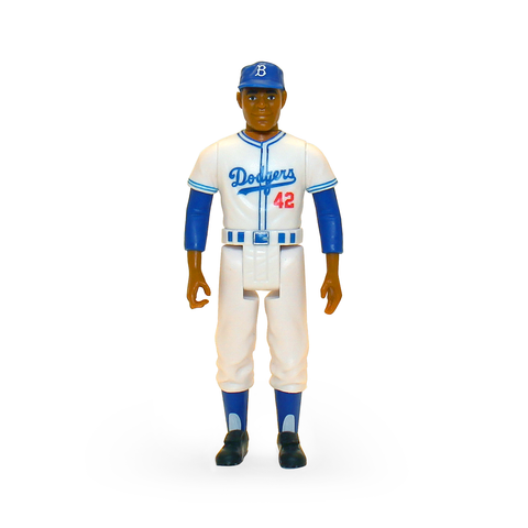 MLB CLASSIC REACTION FIGURE - JACKIE ROBINSON (BROOKLYN DODGERS)