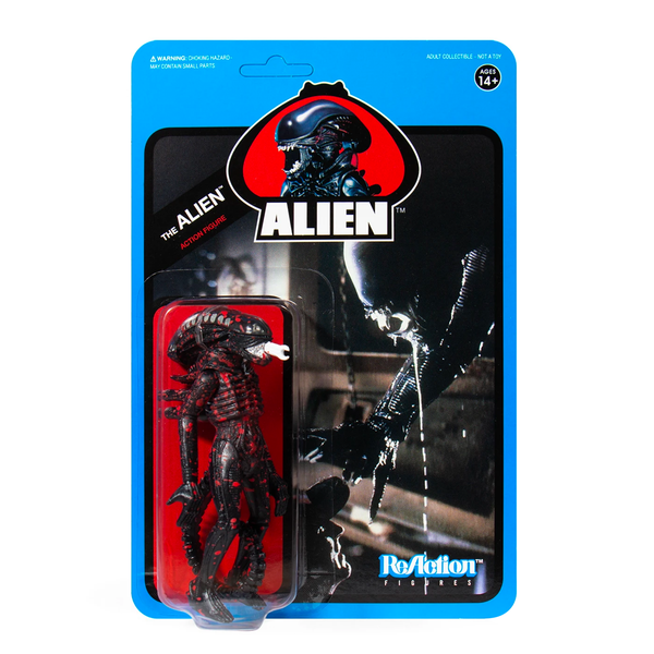 Alien Vintage Reaction Personaggio Set Completo Super 7