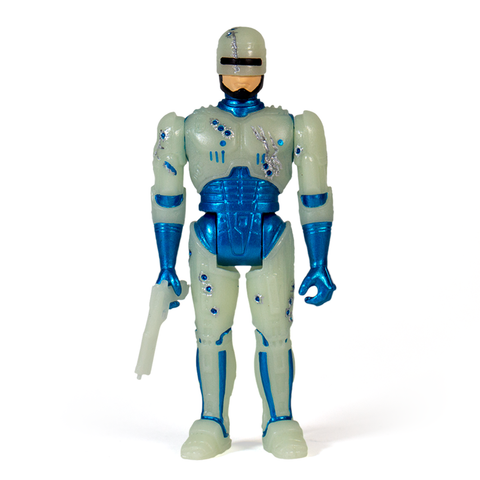 Robocop ReAction Figure - Robocop Battle Damaged (Glow in the Dark)