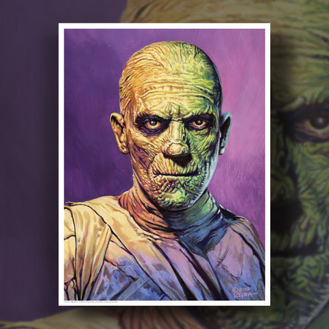 Universal Monsters Print - The Mummy