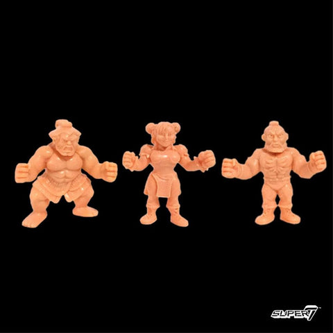 Street Fighter 2 MUSCLE - Pack D (Chun-Li, Zangief, E. Honda)