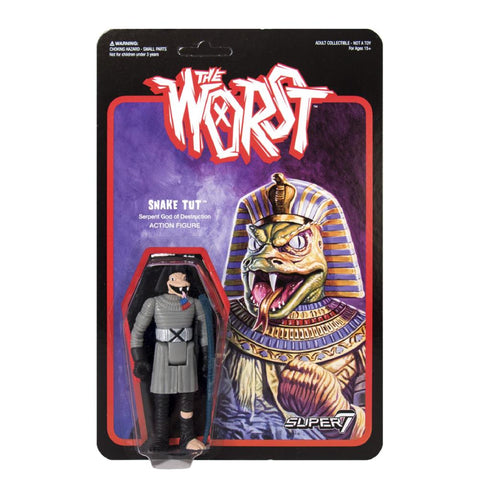 The Worst ReAction Figure - Snake Tut (Star Worst)
