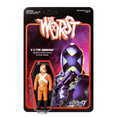 The Worst ReAction Figure - X-2 (The Unknown) Star Worst