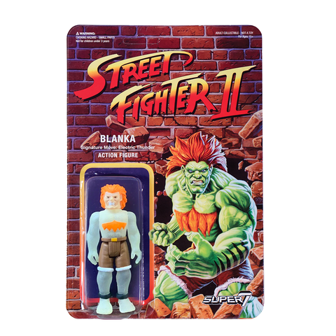 Street Fighter 2 ReAction Figure - Blanka (Glow in the Dark)