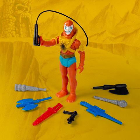 Master of the Universe ReAction Figure - Beastman with Weapons Pack