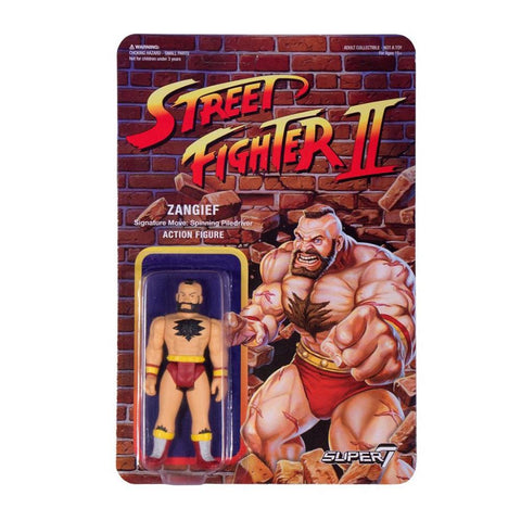 Street Fighter 2 ReAction Figure - Zangief