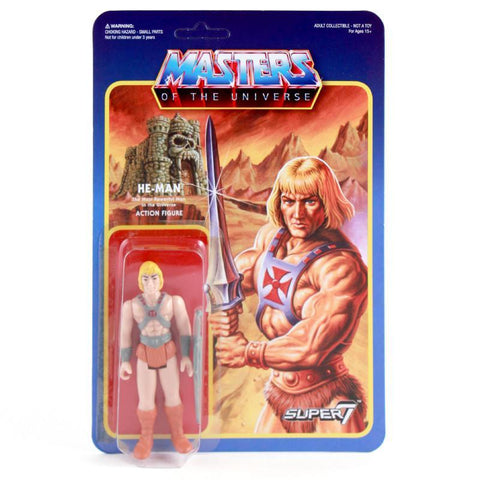 Masters of the Universe ReAction Figure - He-Man (Wave 1)