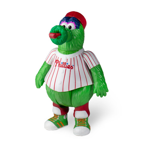 MLB MASCOT REACTION FIGURE - PHILLIE PHANATIC (PHILADELPHIA PHILLIES)