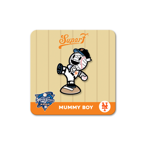 MLB Pin - Mummy Boy Mets