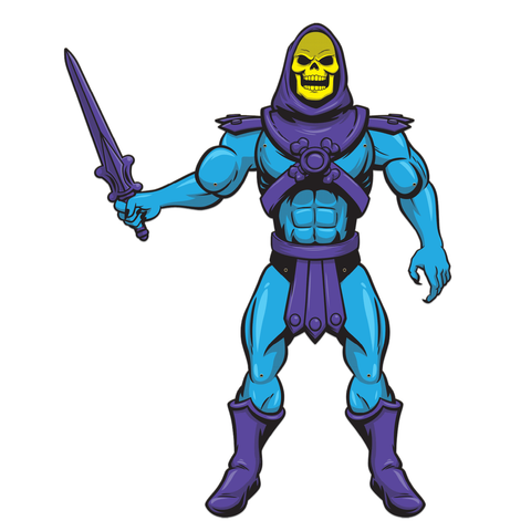 Masters Of The Universe Paper People - Skeletor