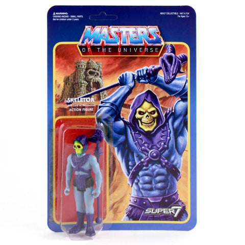 Masters of the Universe ReAction Figure - Skeletor (Wave 1)