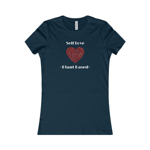 """Self Love"" Women's Favorite Tee, Navy"