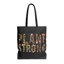 """Plant Strong"" Tote Bag, Black"