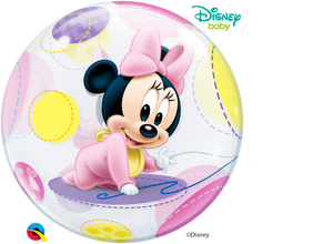 "Burbuja Disney Bebé Minnie Mouse  22"" / 56 cm"