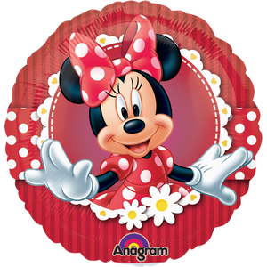 "Globo Mad About Minnie 9""/23 cm"