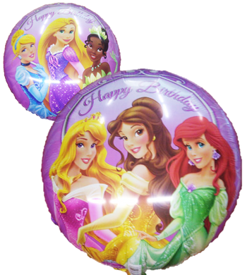 Globo Princess Happy Birthday 18