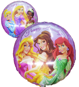 "Globo Princess Happy Birthday 18""/46 cm"