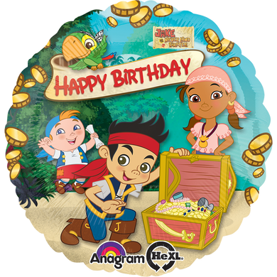 Globo Jake & The Neverland Pirates Hbd18