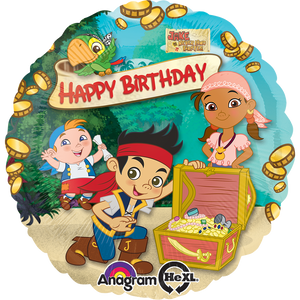 "Globo Jake & The Neverland Pirates Hbd18""/46 cm"