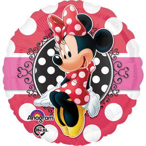 "Globo Minnie Portrait 18""/46 cm"