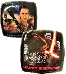 "Globo Star Wars Happy Birthday 18""/46 cm"