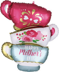 "Globo 28"" / 70 cm Happy Mother's Day Taza de Té"