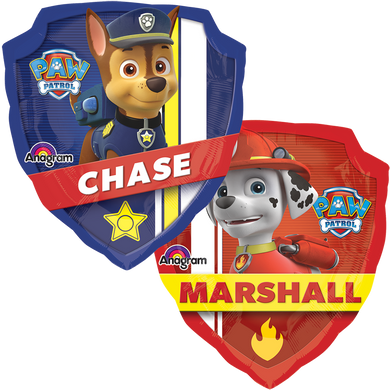 Globo SuperShape Paw Patrol